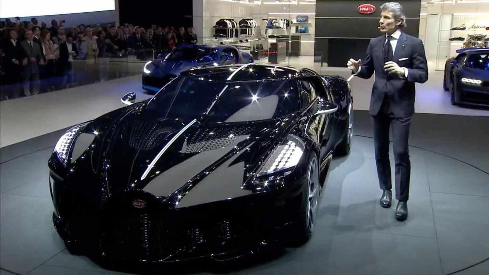 [GMS2019] Siêu phẩm Bugatti La Voatio Noire ra mắt: Chỉ một chiếc được sản xuất; giá hơn 259 tỷ đồng - Hình 1