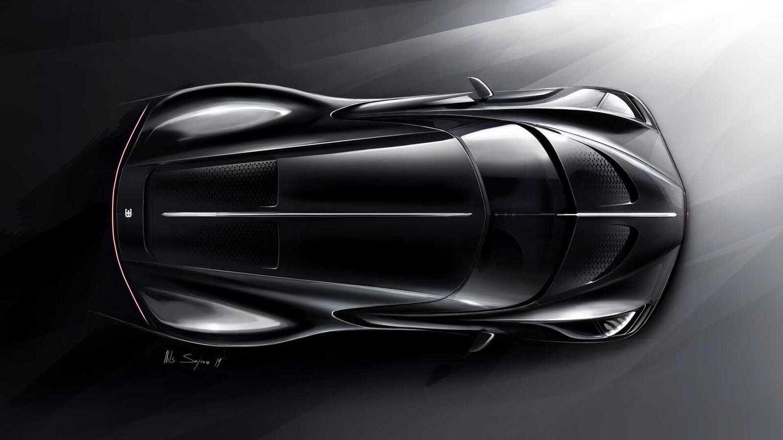 [GMS2019] Siêu phẩm Bugatti La Voatio Noire ra mắt: Chỉ một chiếc được sản xuất; giá hơn 259 tỷ đồng - Hình 10
