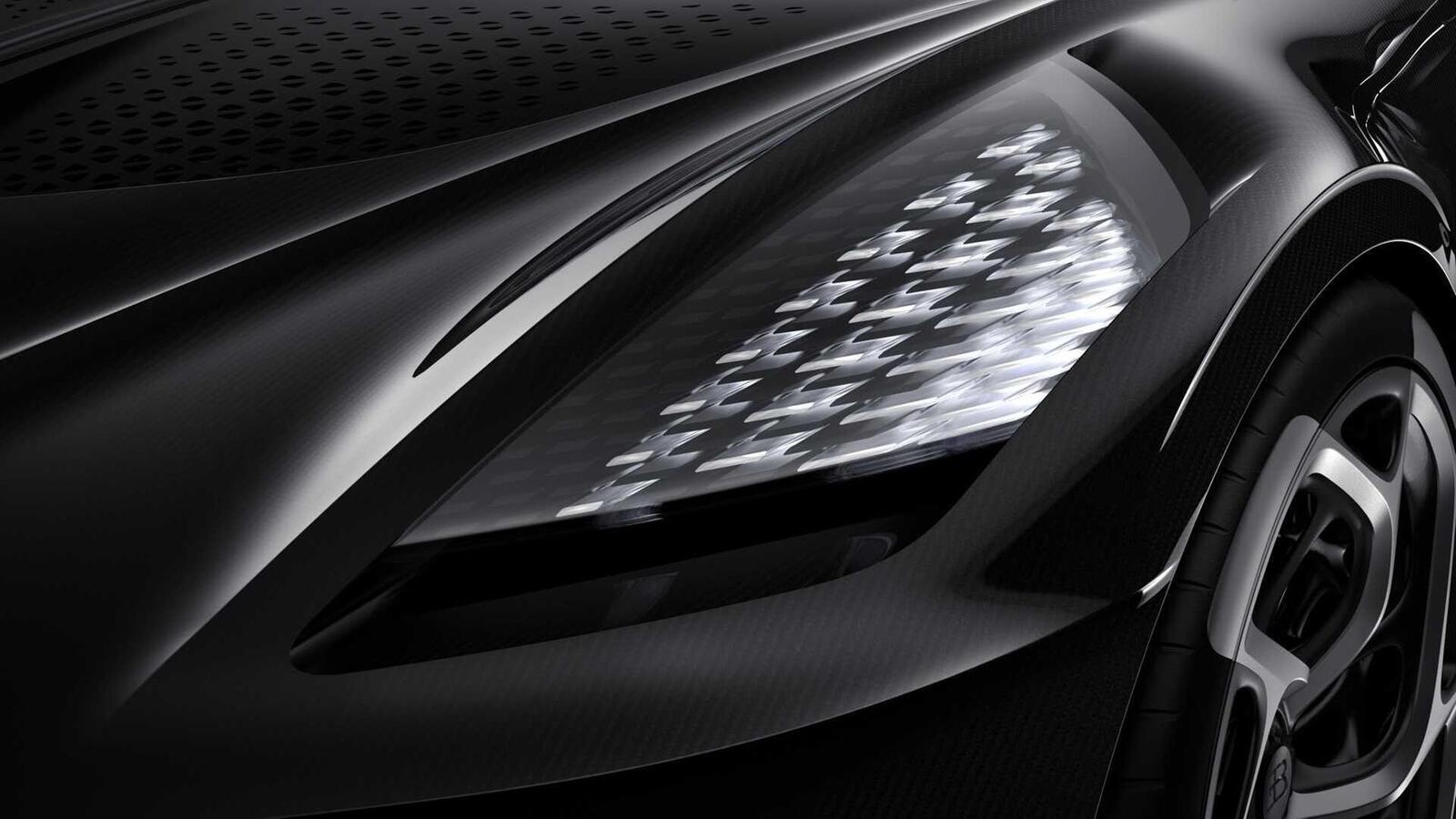 [GMS2019] Siêu phẩm Bugatti La Voatio Noire ra mắt: Chỉ một chiếc được sản xuất; giá hơn 259 tỷ đồng - Hình 17