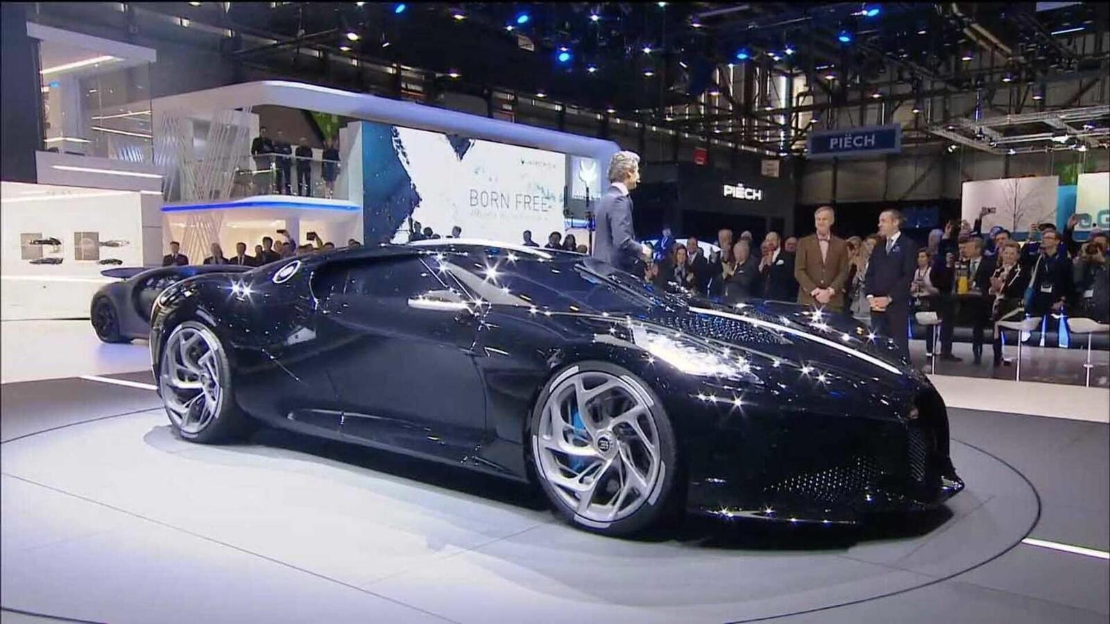 [GMS2019] Siêu phẩm Bugatti La Voatio Noire ra mắt: Chỉ một chiếc được sản xuất; giá hơn 259 tỷ đồng - Hình 2