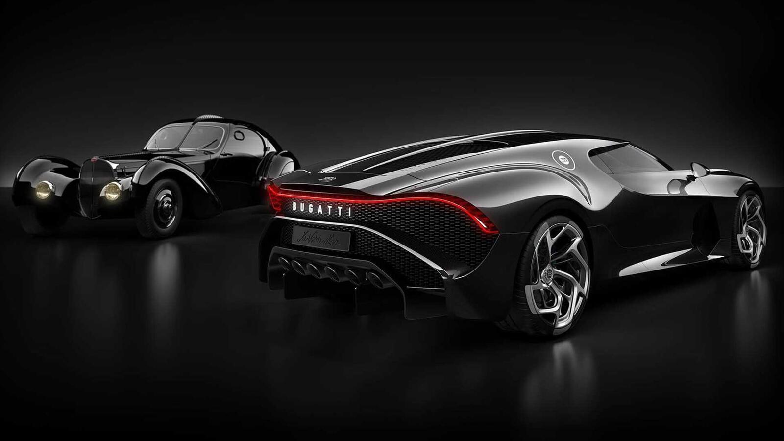 [GMS2019] Siêu phẩm Bugatti La Voatio Noire ra mắt: Chỉ một chiếc được sản xuất; giá hơn 259 tỷ đồng - Hình 6