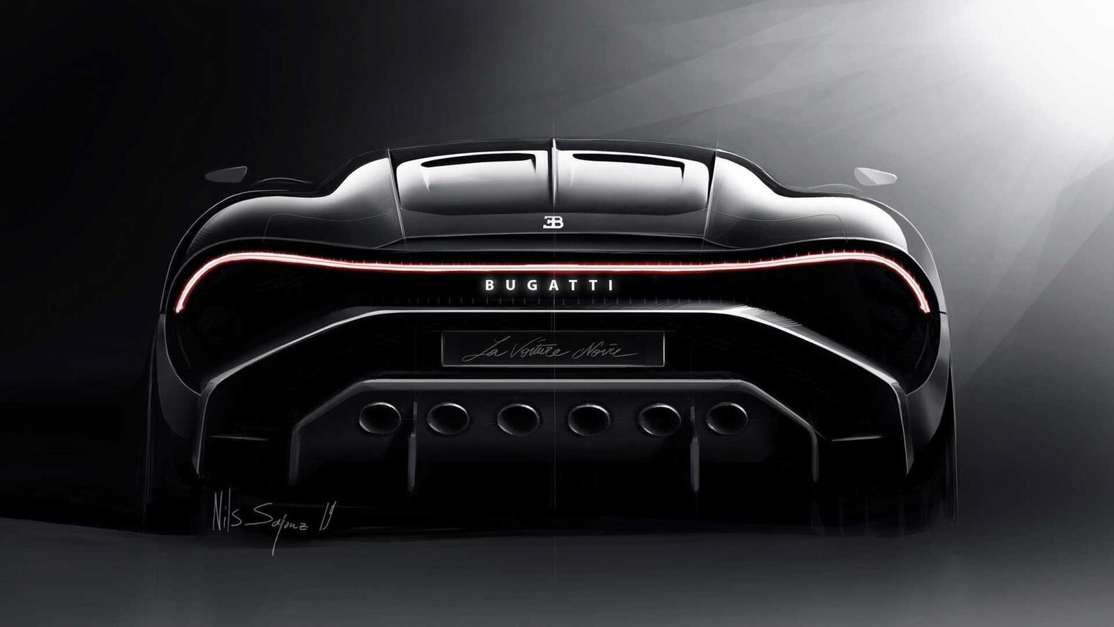 [GMS2019] Siêu phẩm Bugatti La Voatio Noire ra mắt: Chỉ một chiếc được sản xuất; giá hơn 259 tỷ đồng - Hình 9