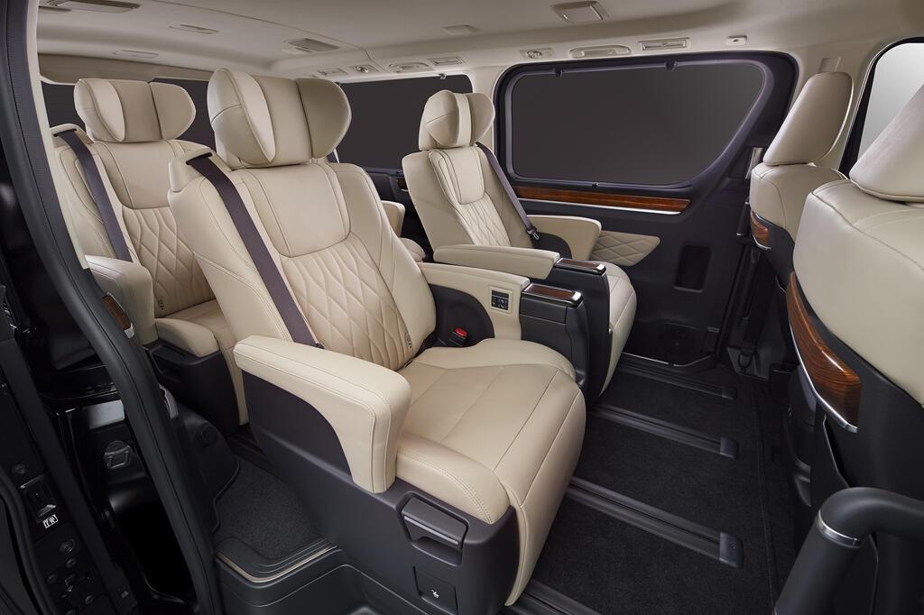 MPV 8 cho Toyota GranAce sap ra mat tai Tokyo Motor Show 2019 hinh anh 5