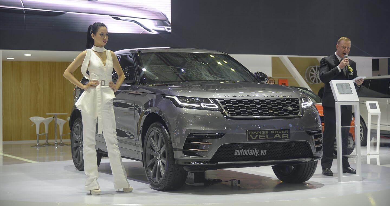 """Hàng """"hot"""" Range Rover Velar ra mắt tại Việt Nam, giá 5,1 tỷ - Hình 1"""