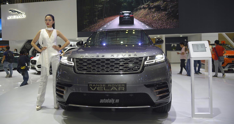 """Hàng """"hot"""" Range Rover Velar ra mắt tại Việt Nam, giá 5,1 tỷ - Hình 3"""