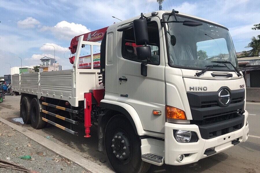 Tổng quan xe tải Hino gắn cẩu