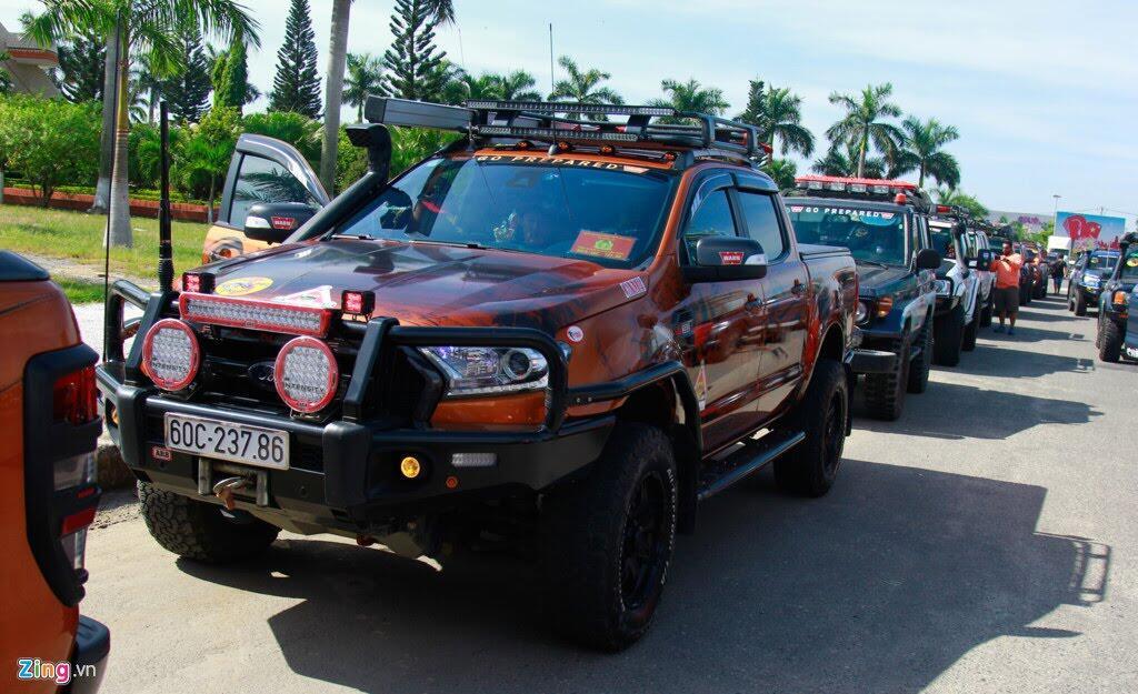 Hơn 100 chiếc bán tải tụ hội ở Đà Nẵng - Hình 2