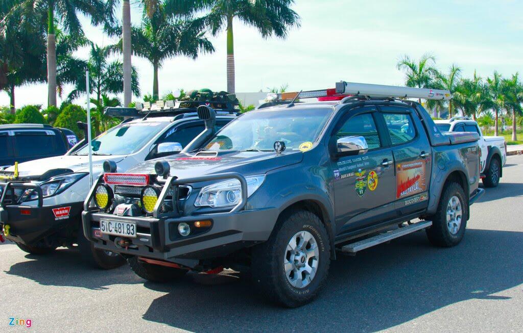 Hơn 100 chiếc bán tải tụ hội ở Đà Nẵng - Hình 3