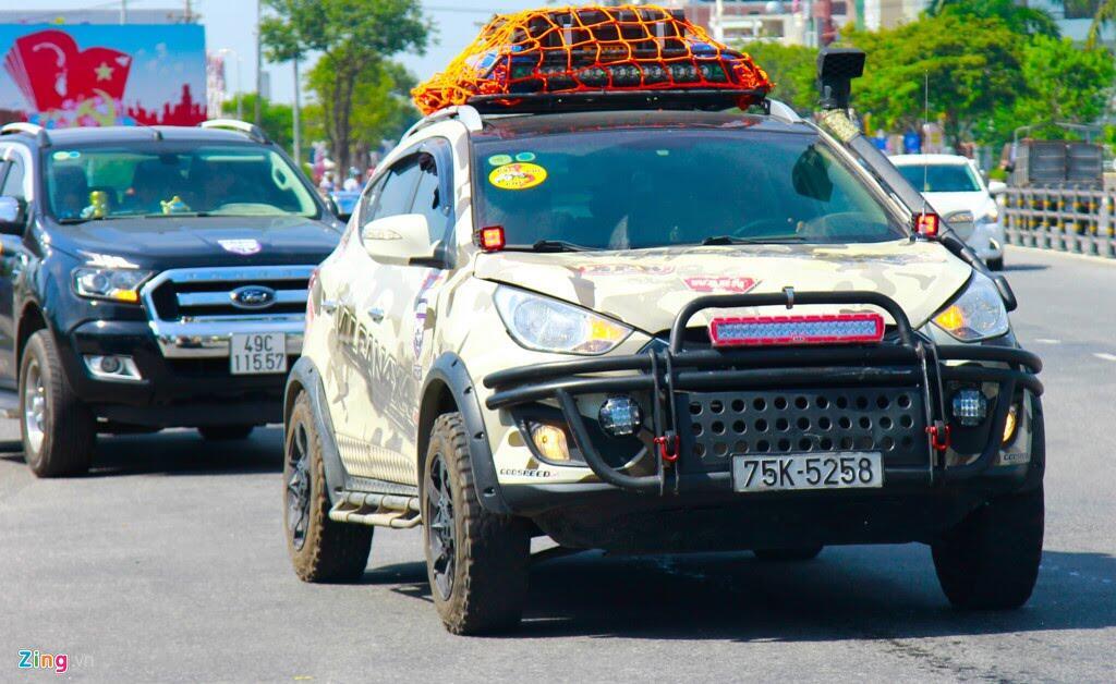 Hơn 100 chiếc bán tải tụ hội ở Đà Nẵng - Hình 5
