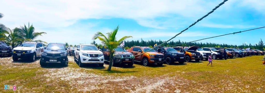 Hơn 100 chiếc bán tải tụ hội ở Đà Nẵng - Hình 7