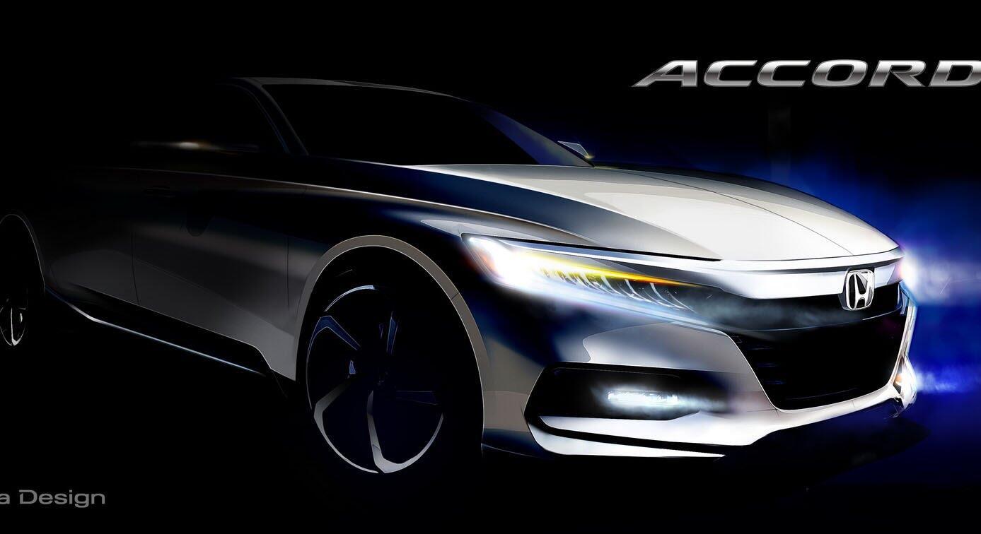 Honda Accord 2018 sắp trình làng - Hình 1