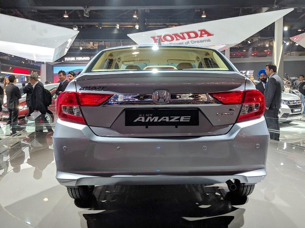 Honda Amaze - đối thủ Hyundai Grand i10 sedan - Hình 5