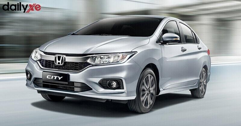 Honda City - Màu Bạc