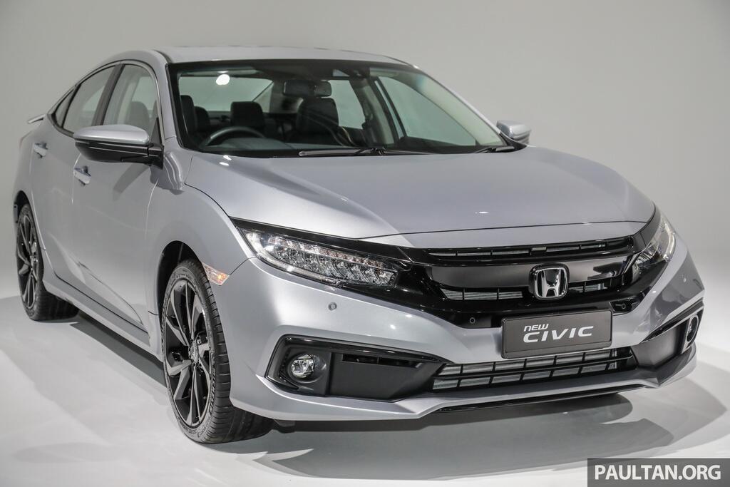 Honda Civic 2020 ra mat Malaysia, gia re hon Viet Nam hinh anh 1 2020_Honda_Civic_Lunar_Silver_Metalic_1.jpg