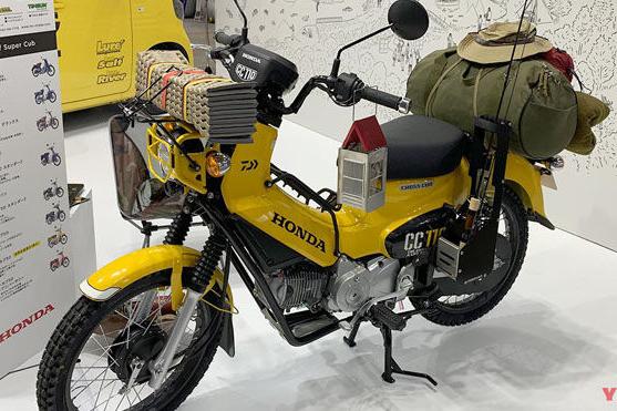Honda Cross Cub 110 bản độ tuyệt đẹp: Dành riêng cho fan có sở thích câu cá - Hình 1