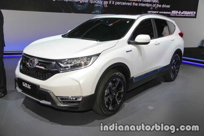 Honda CR-V mới có thể là xe điện - Hình 1