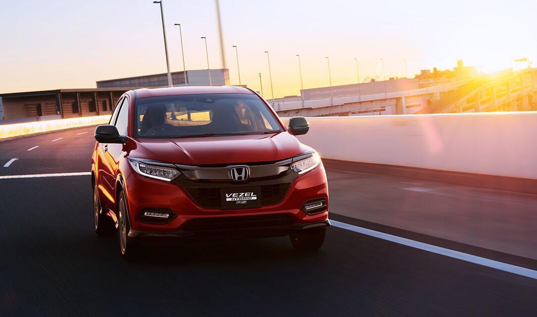 Honda HR-V facelift lộ diện: đẹp hơn, nhiều trang bị hơn - Hình 1