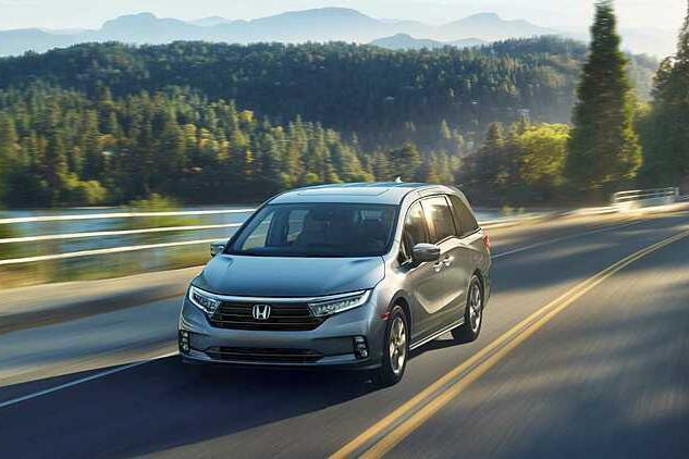 Honda Odyssey phiên bản mới lộ diện