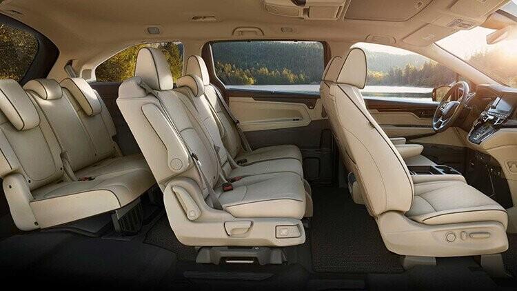 Không gian nội thất của Honda Odyssey 2021. Ảnh: Honda.