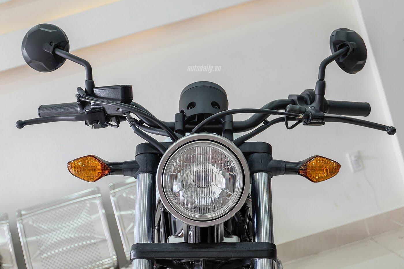 Honda Rebel 300 ABS 2017 đầu tiên về Việt Nam, giá hơn 170 triệu đồng - Hình 5
