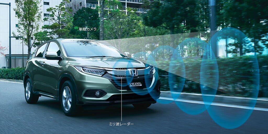 Honda Vezel 2018 ra mắt với nhiều tính năng an toàn mới - Hình 6