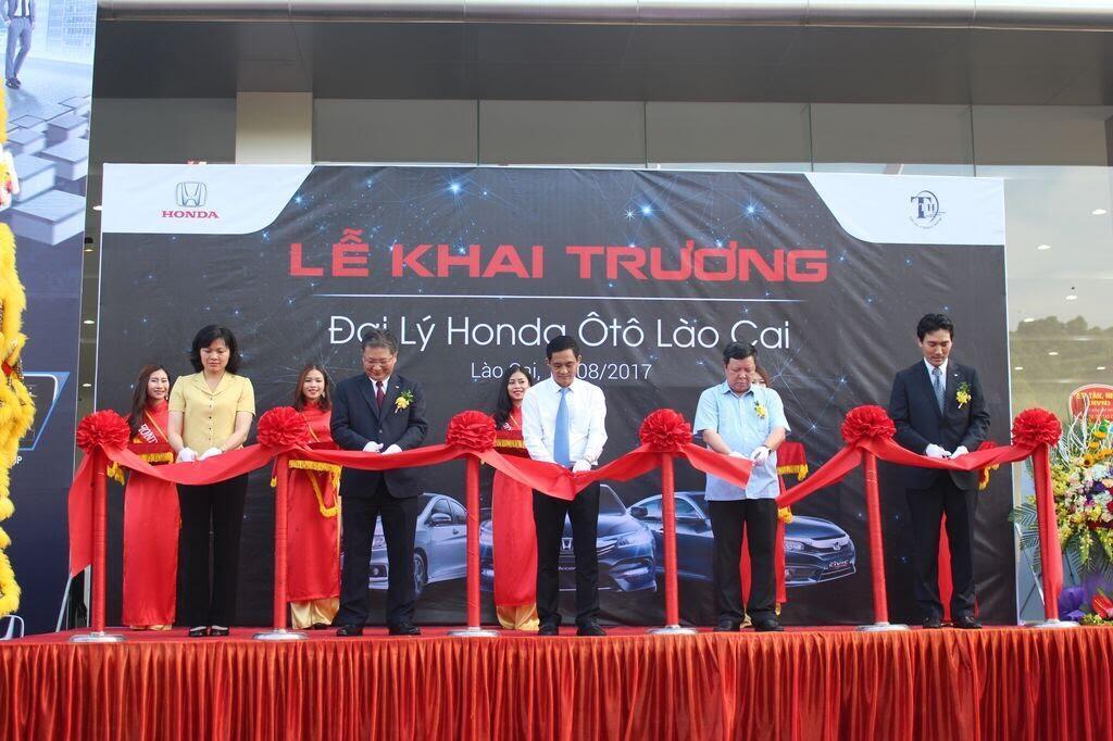 Honda Việt Nam chính thức khai trương Đại lý đạt tiêu chuẩn 5S tại Lào Cai - Hình 1