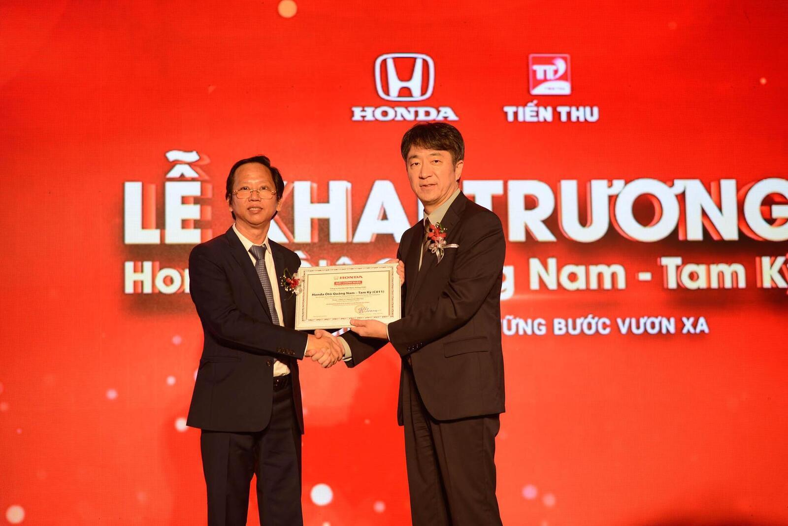 Honda Việt Nam khai trương đại lý tại Quảng Nam – Tam Kỳ, mở rộng thị trường khu vực miền Trung - Hình 5