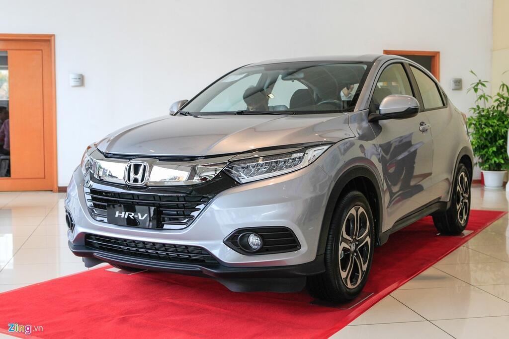 Honda HR-V gây ấn tượng bởi thiết kế đẹp và động cơ tiết kiệm. Ảnh: Toàn Thiện.