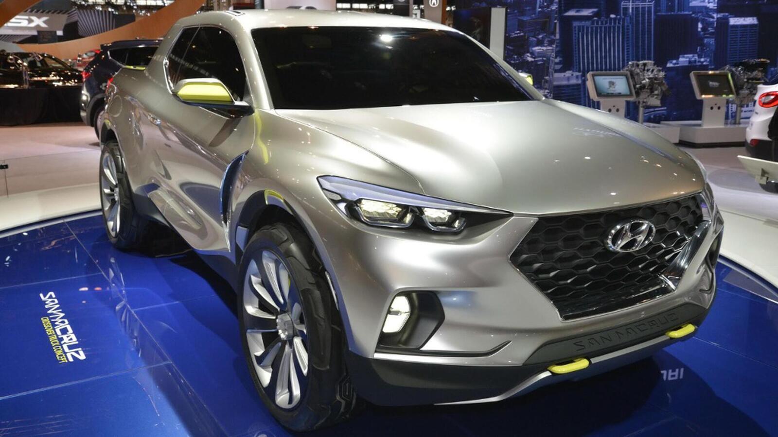 Hyundai bật đèn xanh cho bán tải Santa Cruz: Lắp ráp tại Mỹ vào năm 2021