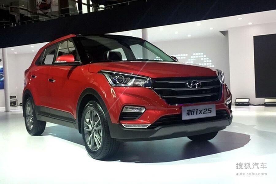 Hyundai Creta facelift (ix25 2017) chính thức ra mắt khách hàng Trung Quốc - Hình 5