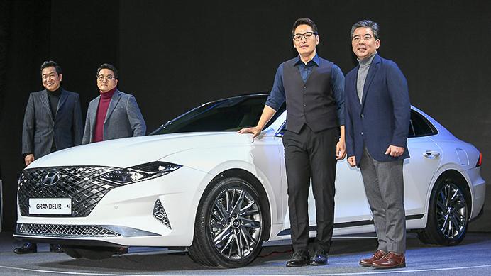 Hyundai Grandeur 2020 facelift ra mắt tại Hàn Quốc