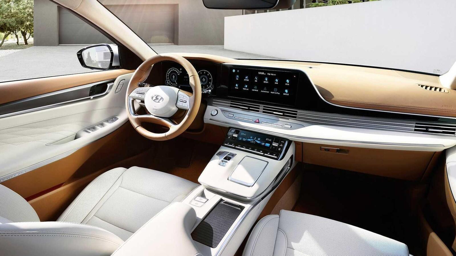 Hyundai Grandeur 2020 ra mắt với thiết kế mới