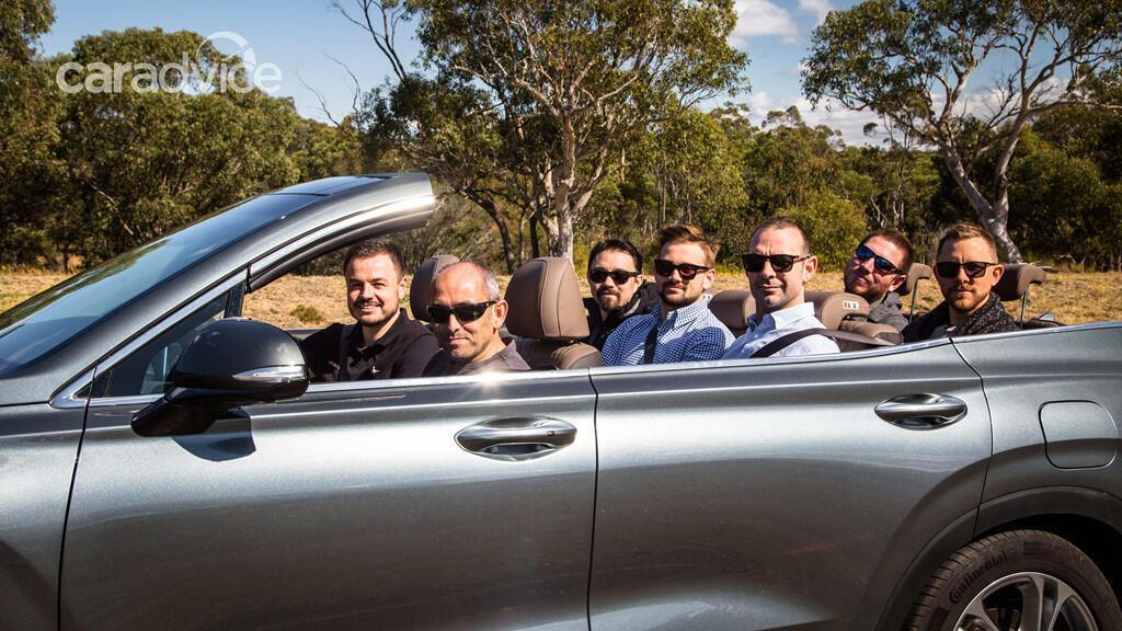 Hyundai hé lộ mẫu mui trần 7 chỗ Santa Fe Cabriolet 2019 - Hình 11