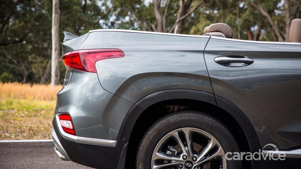 Hyundai hé lộ mẫu mui trần 7 chỗ Santa Fe Cabriolet 2019 - Hình 12