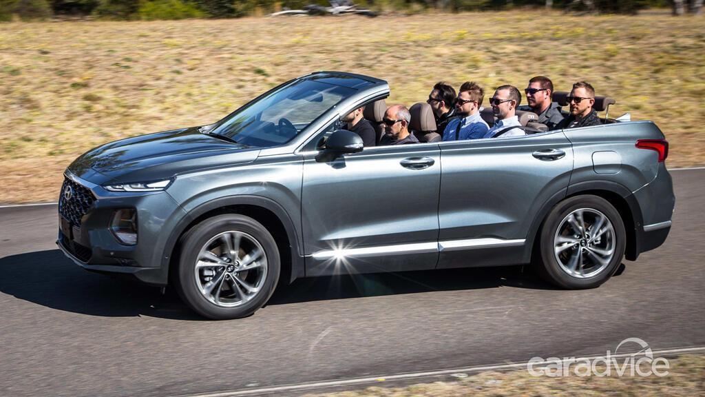 Hyundai hé lộ mẫu mui trần 7 chỗ Santa Fe Cabriolet 2019 - Hình 16