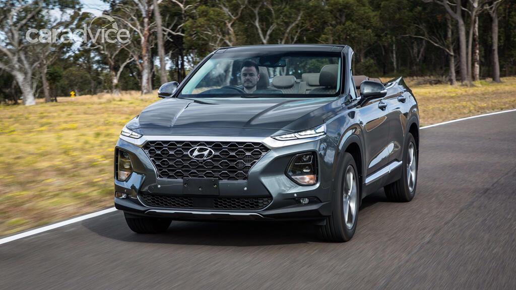 Hyundai hé lộ mẫu mui trần 7 chỗ Santa Fe Cabriolet 2019 - Hình 2