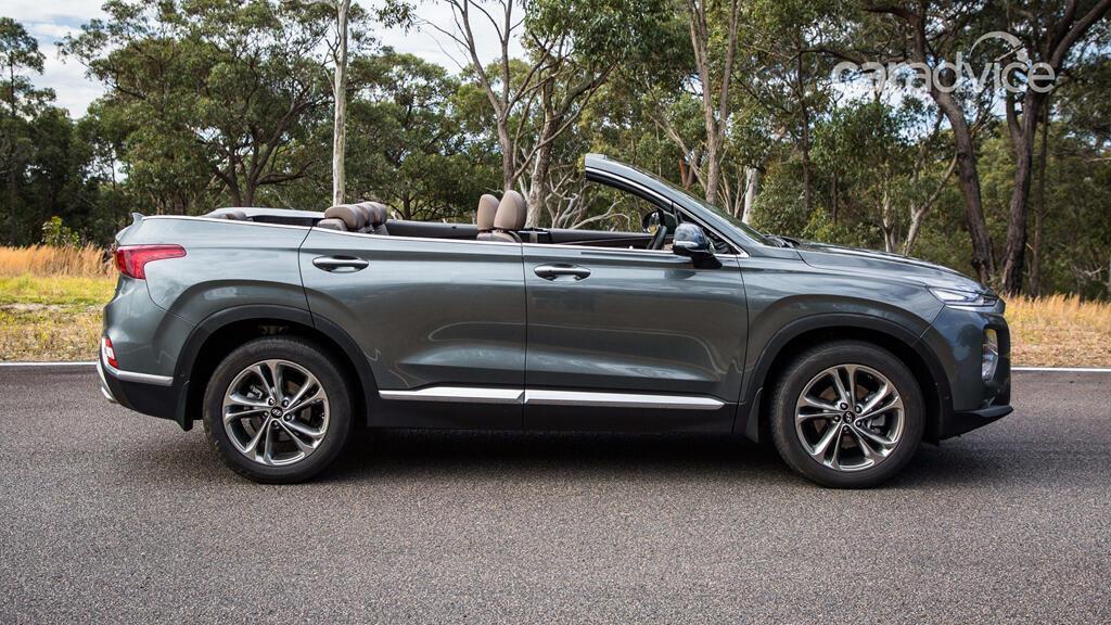 Hyundai hé lộ mẫu mui trần 7 chỗ Santa Fe Cabriolet 2019 - Hình 3