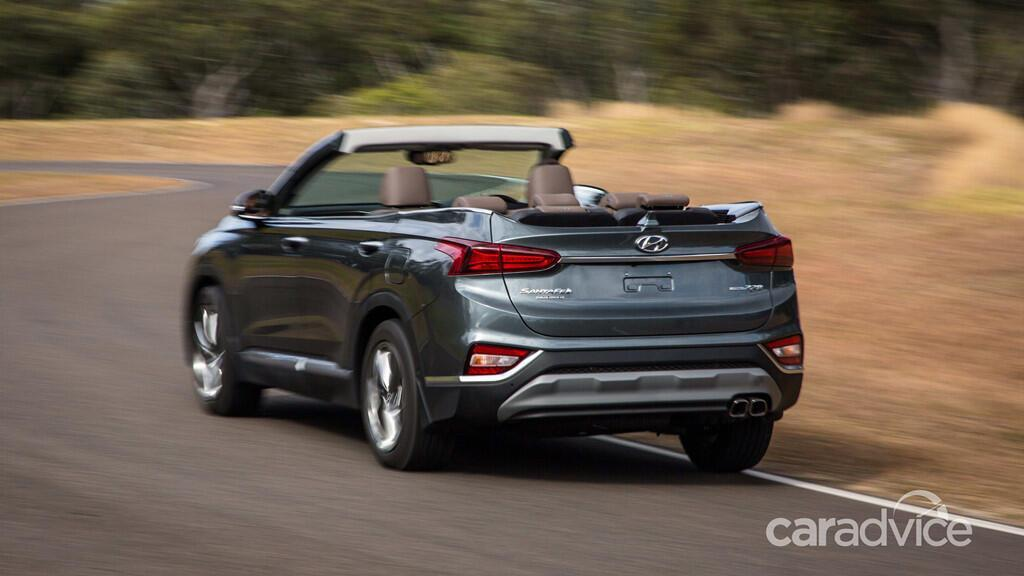Hyundai hé lộ mẫu mui trần 7 chỗ Santa Fe Cabriolet 2019 - Hình 4