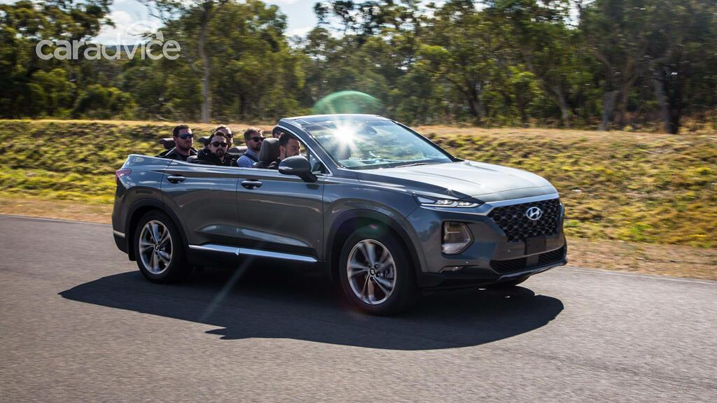 Hyundai hé lộ mẫu mui trần 7 chỗ Santa Fe Cabriolet 2019 - Hình 6