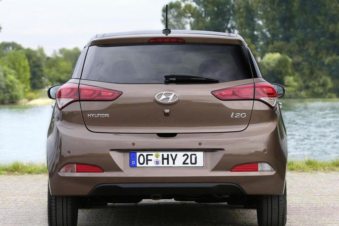 Hyundai i20 2018 lộ diện trên đường thử - Hình 5