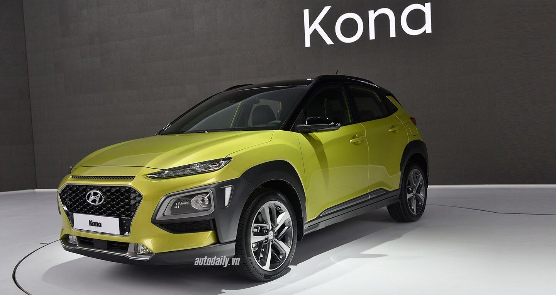 Hyundai KONA 2018 có giá từ 17.000 USD - Hình 1