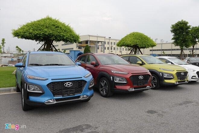 Hyundai Kona ra mắt tại Việt Nam: 3 phiên bản, giá từ 615 triệu - Hình 2