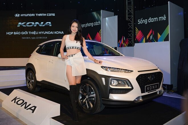 Hyundai Kona ra mắt tại Việt Nam: 3 phiên bản, giá từ 615 triệu - Hình 3