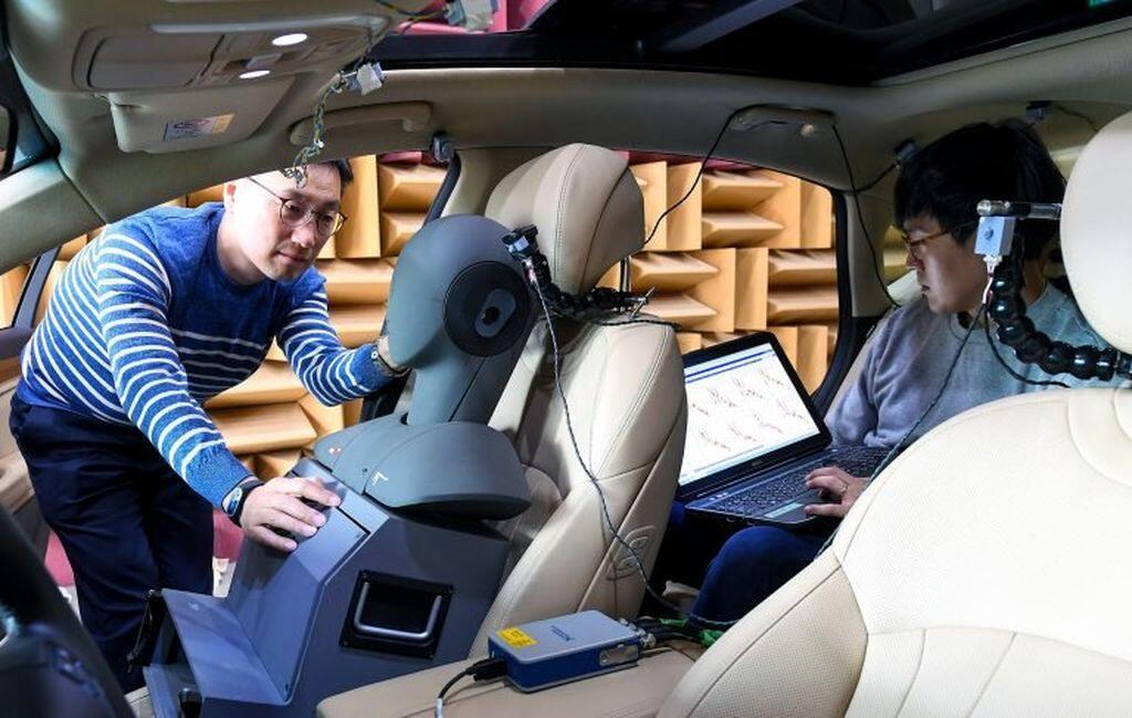 Hyundai nghiên cứu Công nghệ kiểm soát tiếng ồn Road Active Noise Control