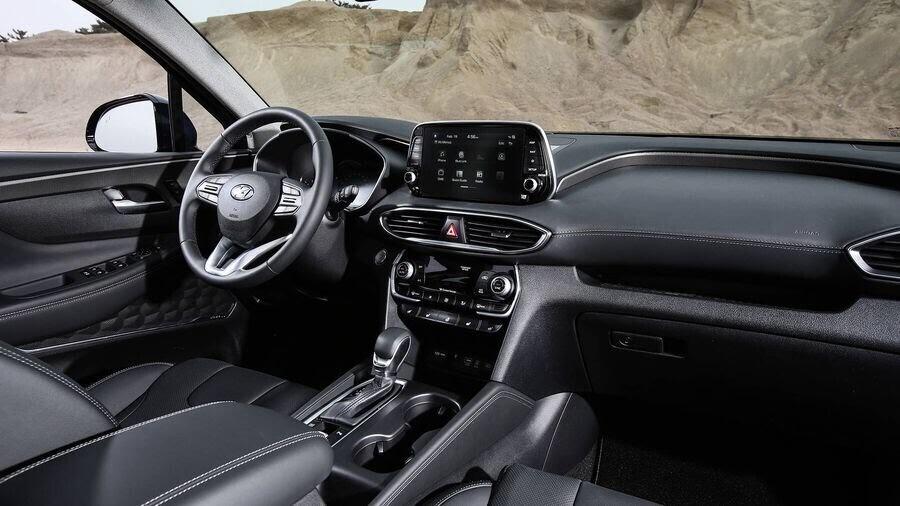 Hyundai Santa Fe 2019 định hình lại kiểu dáng, kích thước và tính đẳng cấp - Hình 9