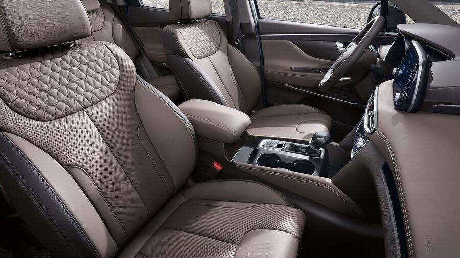 Hyundai Santa Fe 2019 định hình lại kiểu dáng, kích thước và tính đẳng cấp - Hình 11