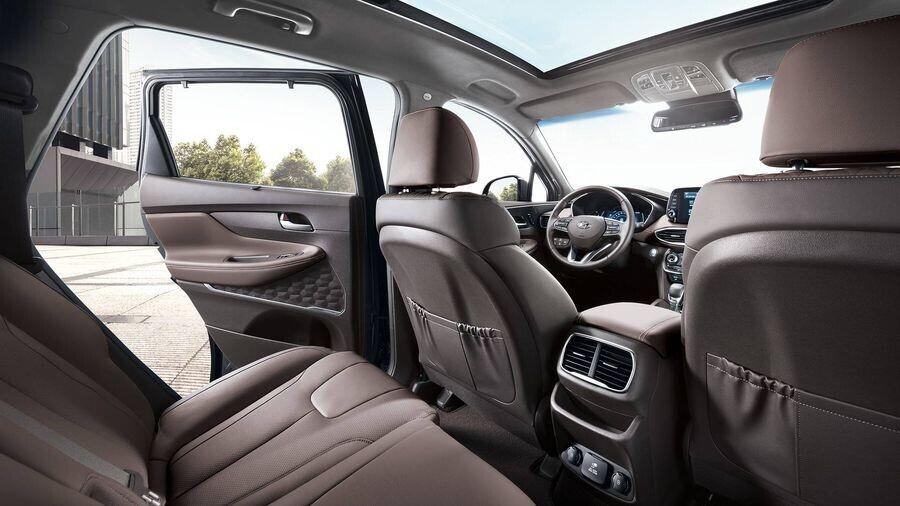 Hyundai Santa Fe 2019 định hình lại kiểu dáng, kích thước và tính đẳng cấp - Hình 12