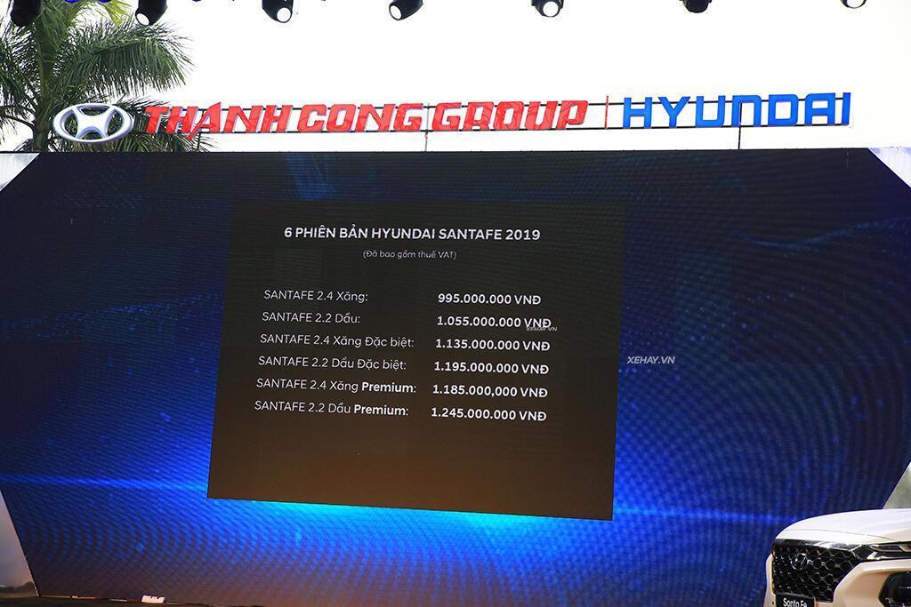 Hyundai Santa Fe hoàn toàn mới trình làng - giá từ 995 triệu VND - Hình 14