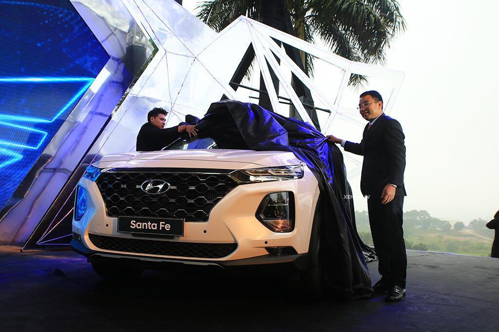 Hyundai Santa Fe hoàn toàn mới trình làng - giá từ 995 triệu VND - Hình 5