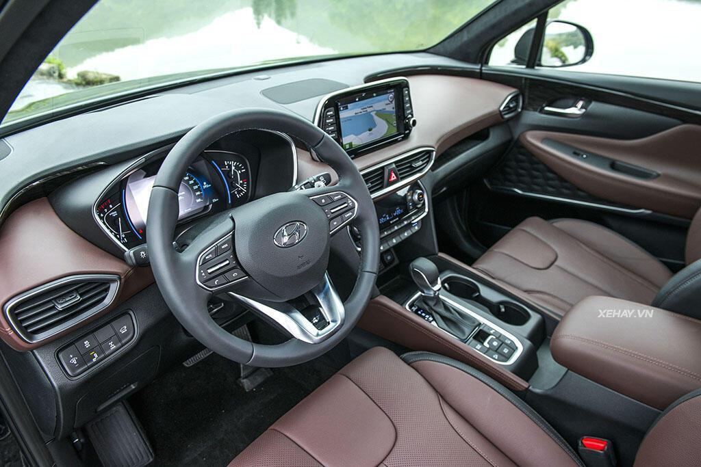 Hyundai Santa Fe hoàn toàn mới trình làng - giá từ 995 triệu VND - Hình 9